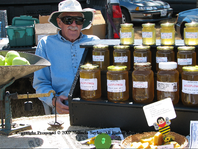honeyman, selling honey